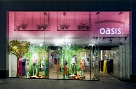 Oasis fashion store-omnichannel