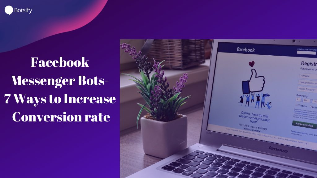 Facebook messenger bots