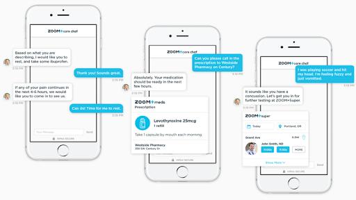 telemedicine chat