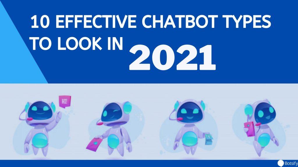 chatbot types