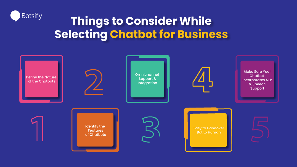 things to consider to have chatbot in your business