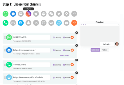 choose your channel